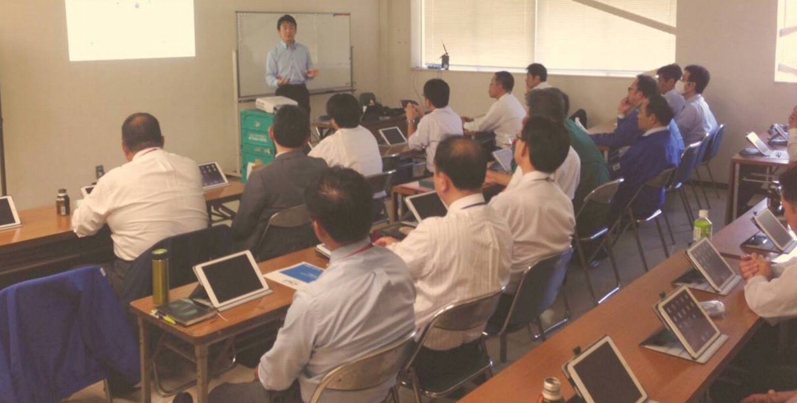 ビジネスiPad活用のイメージ